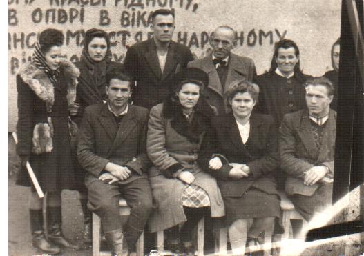 учительський колектив 1949